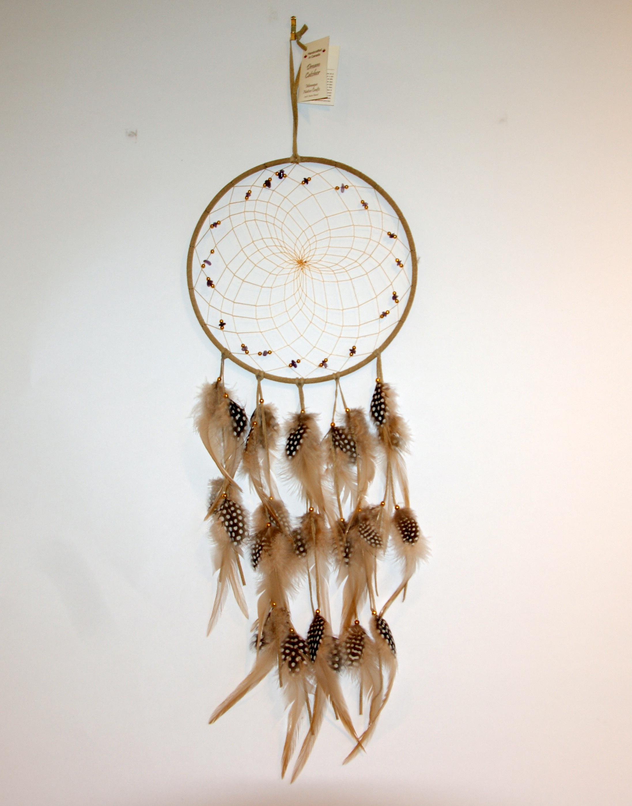Handmade Dream Catcher Canadian Indian Art Inc